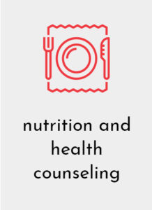 Nutrition and health counseling