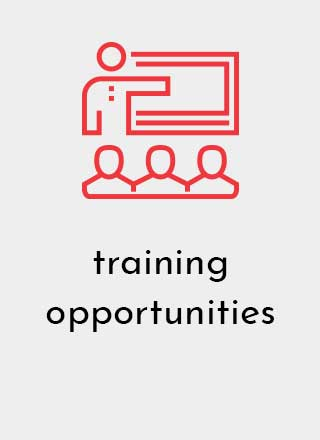 Designetics offers employees Training Opportunities