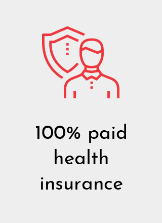 Designetics offers employees 100% Paid Health Insurance